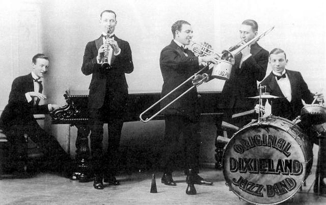 original diexeland jazz band